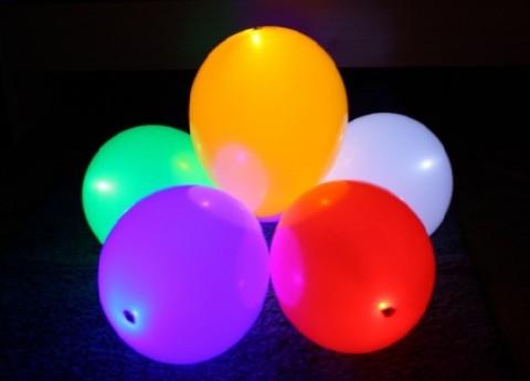 Светящаяся шарики своими руками