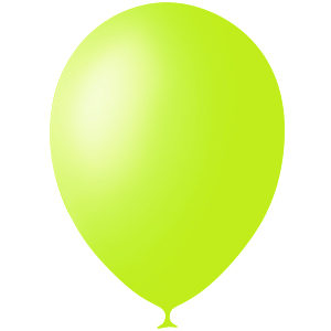 Шарики с гелием 12″ (30 cm) Декоратор-APPLE-GREEN-399 Globos Payaso