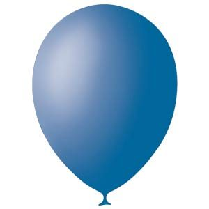 Шарики с гелием 12″ (30 cm)  Декоратор-ROYAL-BLUE-044 Globos Payaso