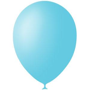 Шарики с гелием 12″ (30 cm)  Декоратор-SKY-BLUE-042 Globos Payaso