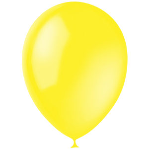 Шарики с гелием 12″ (30 cm)  Декоратор-YELLOW-041 Globos Payaso