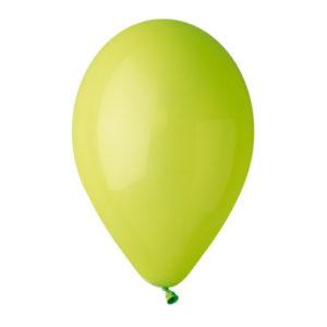 Шар с гелием Зеленый-пастель-№11, Италия