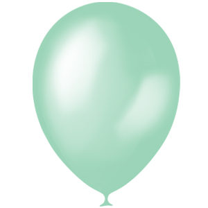 Шарики с гелием 12″ (30 cm) Перламутр-GREEN-075 Globos Payaso