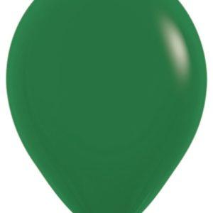 Шарики с гелием 12″ (30 cm) Темно-зеленый (032) Sempertex (Колумбия)