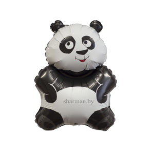 Панда 83*56 см шар фольга