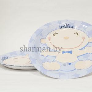 Тарелки бумажные мальчик 6 штук