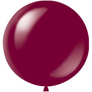 Воздушный шар с гелием 36″ 91см Декоратор BURGUNDY 046