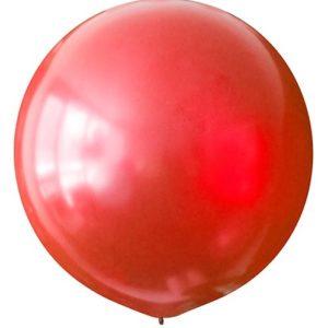 Воздушный шар с гелием 30″ 76см Металлик CHERRY RED 031
