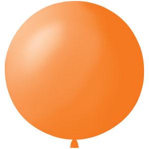 Воздушный шар с гелием 36″ 91см Пастель ORANGE 005