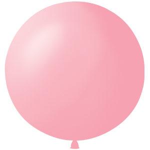 Воздушный шар с гелием 36″ 91см Пастель PINK 007