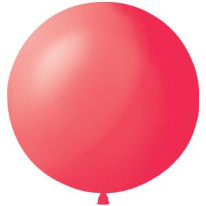 Воздушный шар с гелием 36″ 91см Пастель RED 006