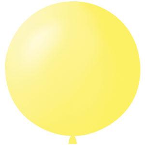Воздушный шар с гелием 36″ 91см Пастель YELLOW 001