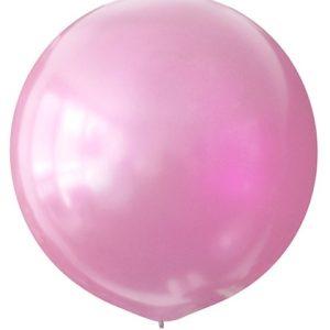 Воздушный шар с гелием 30″ 76см Перламутр PINK 073