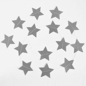 Подвеска Звезды, Серебро, 230 см
