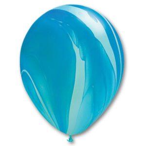 Шар с гелием Супер Агат Blue