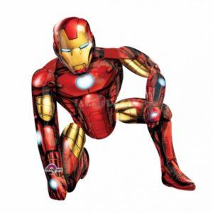 Ходячая фигура, (44″ / 111см) Железный человек, наполнена гелием
