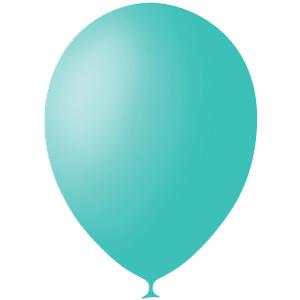Шарики с гелием 12″ (30 cm) Декоратор-AQUA-BLUE-971 Globos Payaso