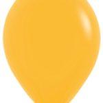 Шарики с гелием 12″ (30 cm) Золотистый-021 Sempertex (Колумбия)