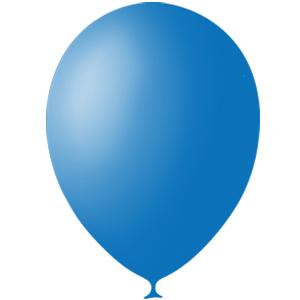 Шарики с гелием 12″ (30 cm)  Пастель-DARK-BLUE-003 Globos Payaso