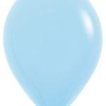 Шарики с гелием 12″ (30 cm) Светло-голубой (140) Sempertex (Колумбия)