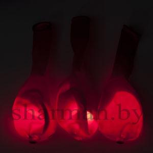 Светящийся шарик с кнопкой красный