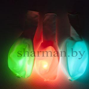Светящийся шарик с кнопкой хамелеон