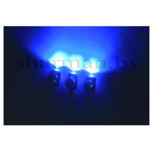 Светящийся модуль 3D синий