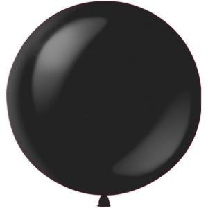 Воздушный шар с гелием 36″ 91см Декоратор BLACK 048