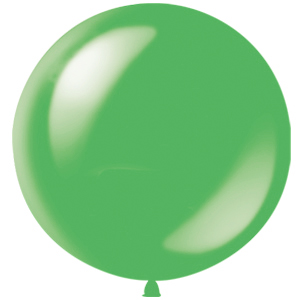Воздушный шар с гелием 36″ 91см Декоратор LIME GREEN 065