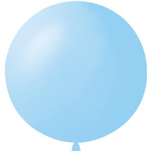 Воздушный шар с гелием 36″ 91см Пастель LIGHT BLUE 002