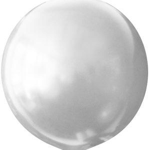 Воздушный шар с гелием 30″ 76см Перламутр WHITE 072
