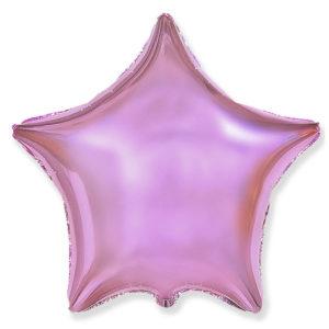 Шар с гелием звезда 18″ pink