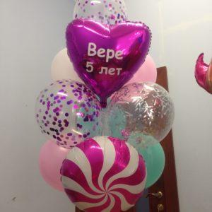Набор воздушных шаров с леденцом