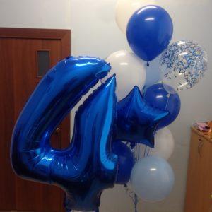 Набор шаров «Синий праздник»