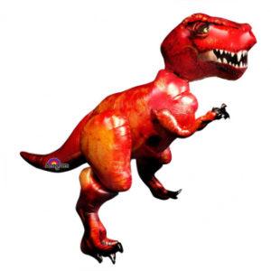 Шар с гелием Ходячая фигура, (172 x 154 см) Тираннозавр Рэкс