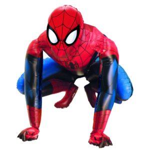 Ходячая фигура (44″/ 111см) Человек паук, наполнена гелием