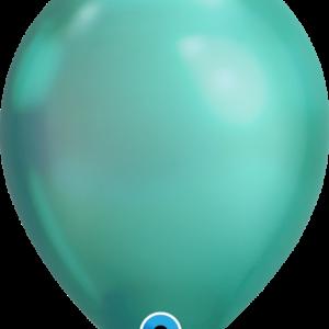 Шар с гелием Chrome™ Green 11″