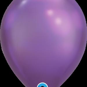 Шар с гелием Chrome™ Purple 11″