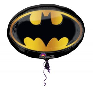 Воздушный шар с гелием А ФИГУРА/P38 Бэтмен эмблема