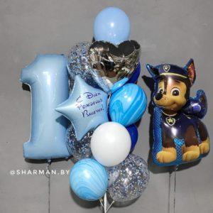 Композиция из шаров «Его первый День рождения»